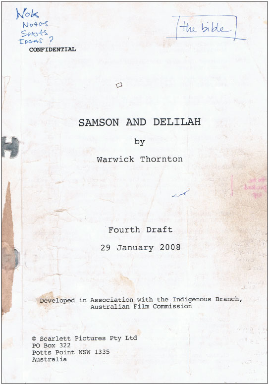 samson and delilah short script